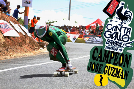 Jose Guzman WINS Cata Gallo Downhill, Puerto Rico