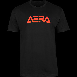 Aera Trucks Logo T Shirt Black